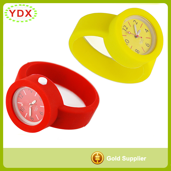 Silicone O Clock Watch
