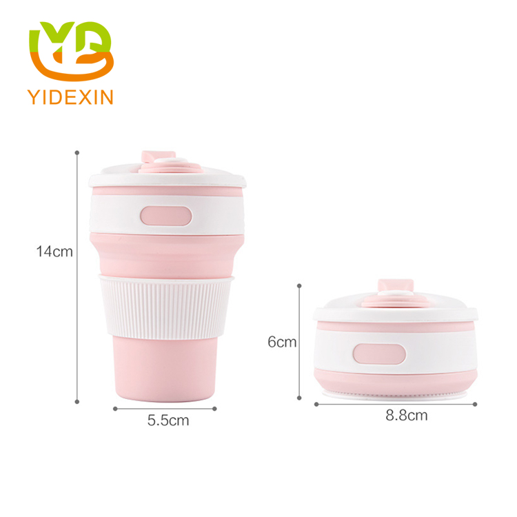 portable silicone collapsible cup