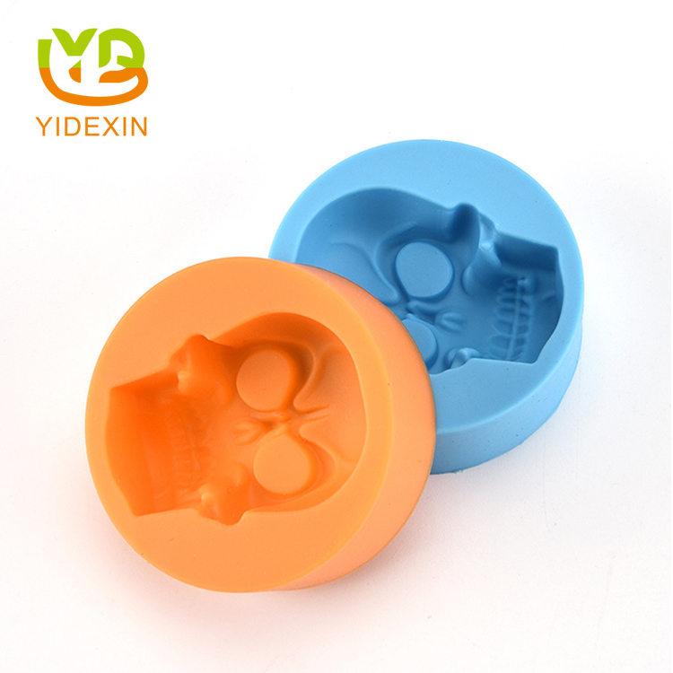 Skull Silicone Jelly Ice Block Molds