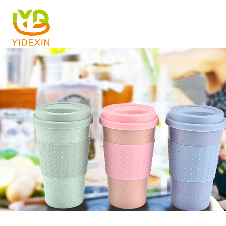 Reusable Portable Cups with Lids