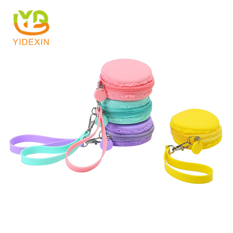 silicone coin purse with zipper