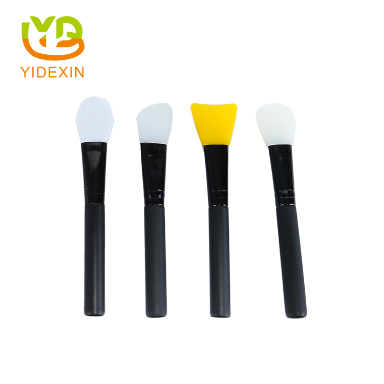 Silicone face facial mask brush