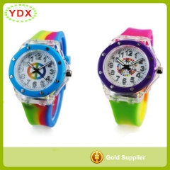 Kids Silicone Flash Watch
