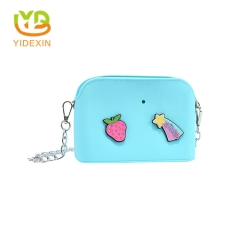 Silicone DIY 3D Shoulder Chain Bag with Custom Charms