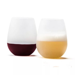 Custom Silicone Wine Glass Wholesale
